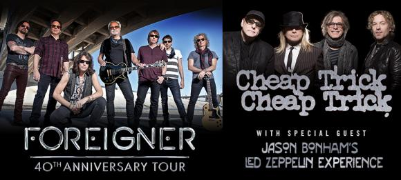Foreigner, Cheap Trick & Jason Bonham's Led Zeppelin Experience at Starlight Theatre