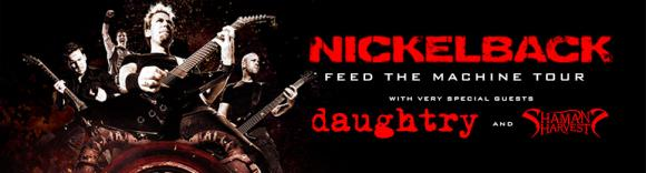 Nickelback & Daughtry at Starlight Theatre