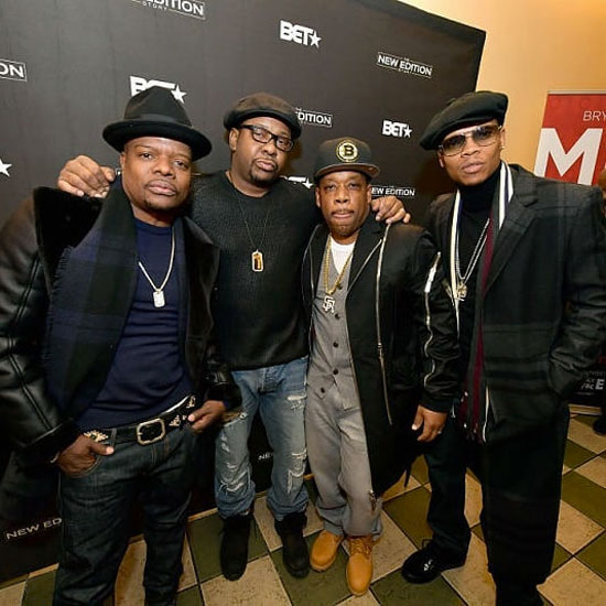 RBRM: Ronnie DeVoe, Bobby Brown, Ricky Bell & Michael Bivins at Starlight Theatre