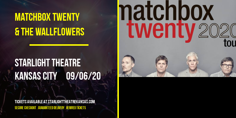 Matchbox Twenty & The Wallflowers at Starlight Theatre
