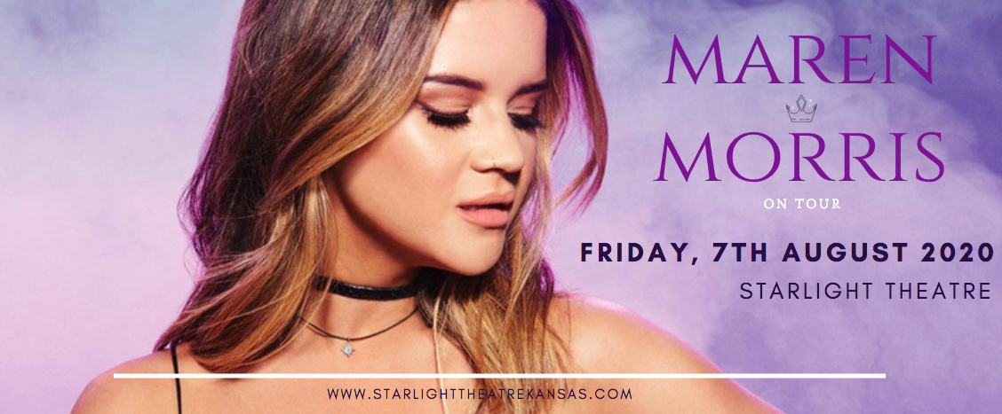 Maren Morris [CANCELLED] at Starlight Theatre