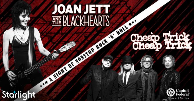 Joan Jett and The Blackhearts & Cheap Trick at Starlight Theatre