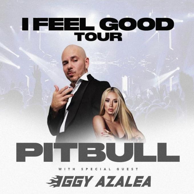 Pitbull & Iggy Azalea at Starlight Theatre