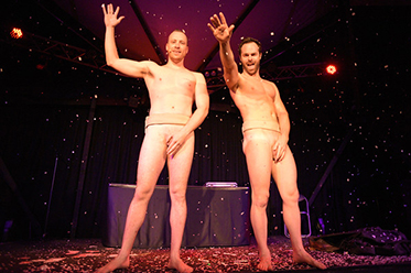 The Naked Magicians To Strip Away Stereotypes In Lakeland Show