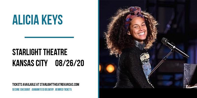 Alicia Keys at Starlight Theatre
