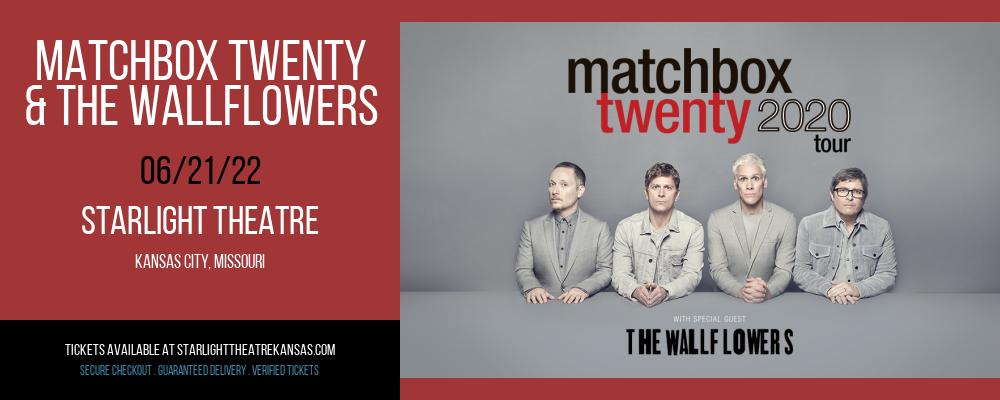 Matchbox Twenty & The Wallflowers at Starlight Theatre